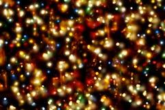 света рождества стоковые изображения