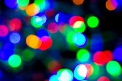 Света рождества, bokeh нерезкости, свет bokeh, предпосылка bokeh стоковое фото rf