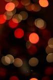 Света рождества влияния Bokeh Стоковое фото RF