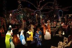 Света рождества Майами Стоковые Фото