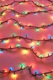 света рождества предпосылки цветастые стоковое изображение