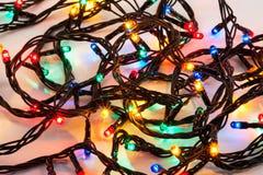 света рождества предпосылки цветастые стоковые изображения rf