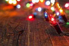 Света рождества стоковое изображение rf