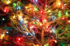 Света рождества Стоковое Изображение