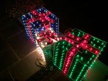 Света рождества Стоковое Фото