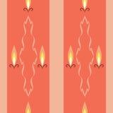 Света свечи Стоковое Изображение RF