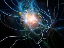 Света сети мысли Стоковые Изображения