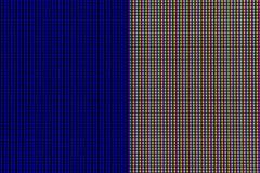 Света СИД от панели экранного дисплея монитора компьютера стоковое фото rf