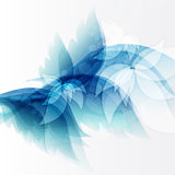 Света сини предпосылки AAbstract. Illustrat вектора Стоковое Изображение RF