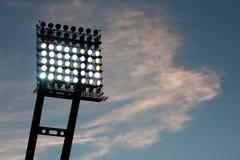 Света стадиона Стоковые Фотографии RF