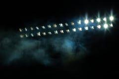 Света стадиона стоковое изображение rf