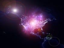 Света США Стоковая Фотография