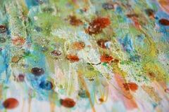 Света, тинная пастель пятнают абстрактную предпосылку Стоковые Фотографии RF