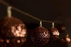 Света торжества рождества стоковые фотографии rf