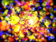 света торжества Стоковое Изображение RF