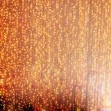 света украшения рождества fairy Стоковое Изображение