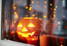 Света хеллоуина стоковая фотография rf