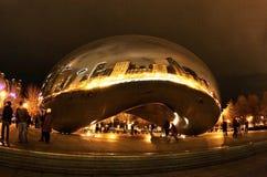 Света Чикаго Стоковое Изображение