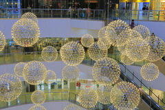 Света шарика Стоковая Фотография