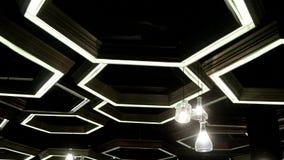 Света шестиугольника на потолке акции видеоматериалы