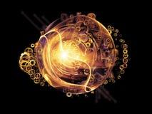 Света элемента дизайна Стоковая Фотография RF