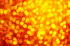 Света яркого блеска винтажные с расплывчатым специальным волшебным влиянием glitter Стоковая Фотография RF