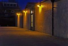 света backstreet стоковое изображение rf