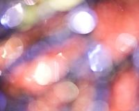 Света Bokeh Стоковое Изображение RF