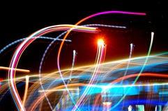 света deux танцы Стоковое фото RF