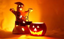 света halloween Стоковое Изображение