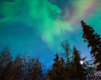 Света Norrthern Стоковое фото RF