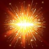 Света Sparkle Стоковая Фотография