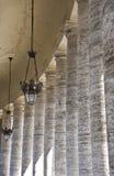 светильники колонок стоковое фото rf