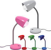 светильники стола Стоковое Изображение RF