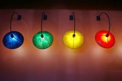 светильники стоковые фото