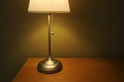светильник изолированный конспектом Стоковое фото RF