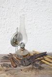 светильник керосина старый Стоковые Фотографии RF