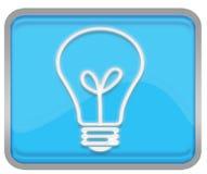 светильник кнопки Стоковое Изображение RF