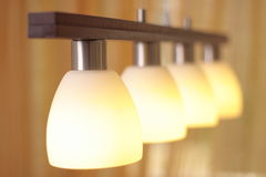 светильник крупного плана Стоковое фото RF