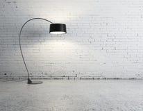 Светильник пола в комнате Стоковые Фотографии RF