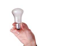 светильник руки Стоковые Фото