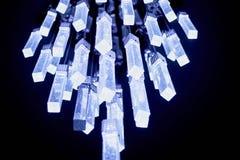 светильник холодный свет интересная форма Оформление комнаты Стоковые Изображения