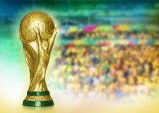 Светить и стадион кубка мира Стоковое Фото