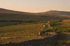 светит национальный парк вэльс brecon Стоковое Изображение RF