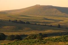 светит национальный парк вэльс brecon Стоковая Фотография RF