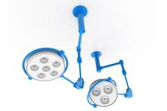 светильники хирургические иллюстрация вектора