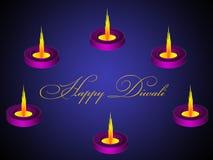 Светильники Diwali иллюстрация штока