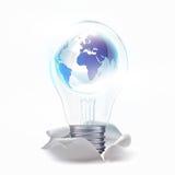 Светильник внутренности свежей идеи в мире Стоковые Фото