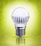 светильник энергии земли сохраняет сбережениа Стоковые Фото