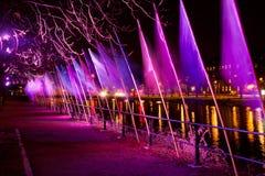 Светлая выставка Стоковое фото RF